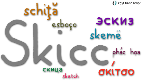 kgyt Handscript을 글꼴