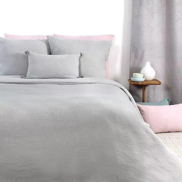 parure de lit en gaze de coton 2 personnes