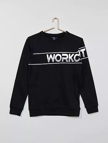 Felpa stampa Workout' - Kiabi
