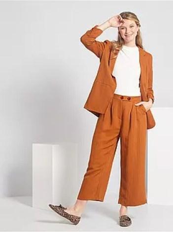Pantaloni pinocchietto larghi - Kiabi