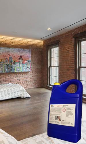 Brick Wall Sealant Interior