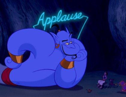 Dschinni Aladdin 1992 Will Smith Robin Williams