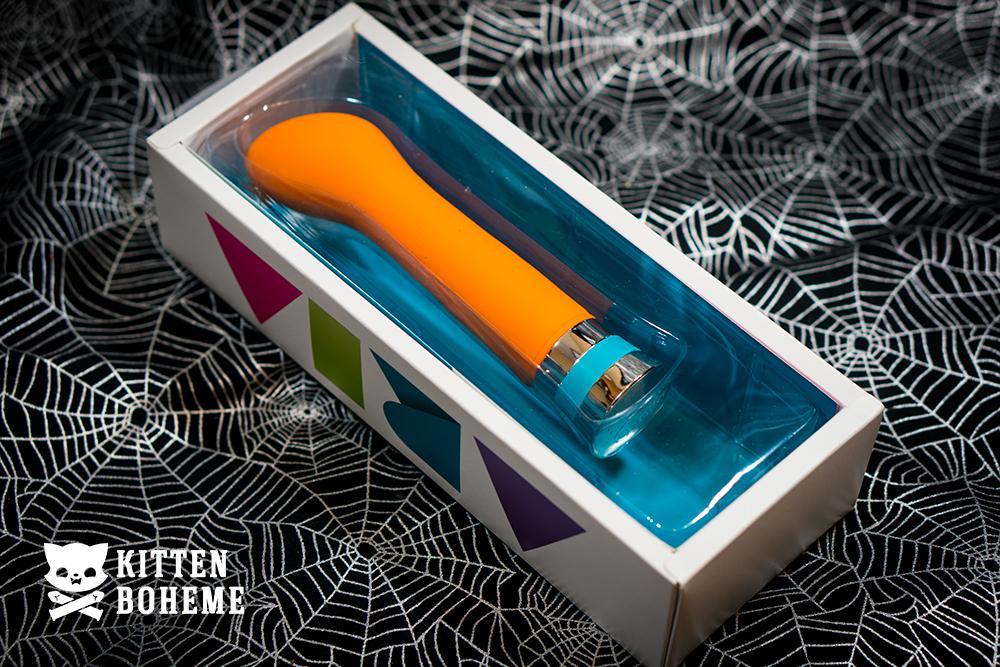 Blush Novelties Aria Hue G Vibrator Inner Packaging