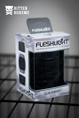 Fleshlight Quickshot Boost Masturbation Sleeve Packaging