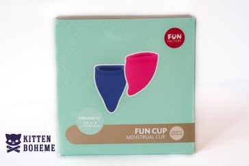 Fun Factory Fun Cup Silicone Menstrual Cups Packaging