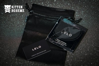 Lelo Accessories - Including Lube, Warranty Card, and Storage Pouch