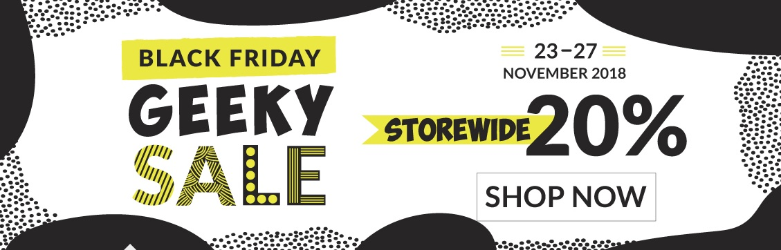 Geeky Sex Toys Black Friday Sale