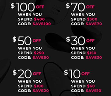 JouJou Australia Black Friday Progressive Savings Sale