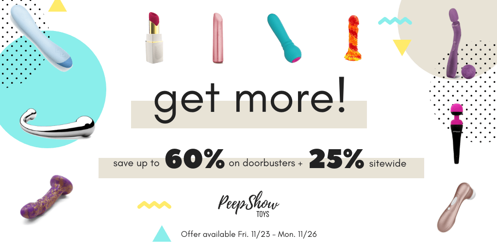 Peepshow Toys Black Friday Sex Toy Sale