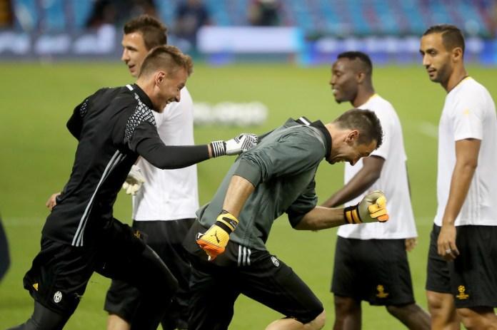 Trening Juventusa pred finale. (Foto: EPA)
