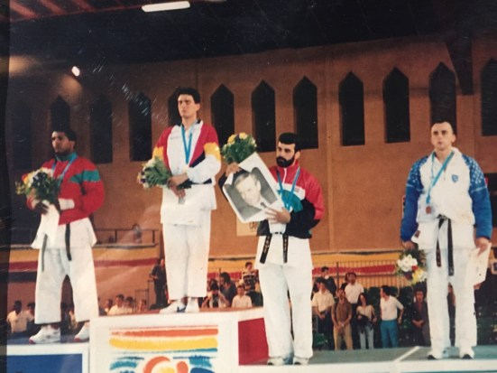 Slika za historiju: Prva medalja za BiH
