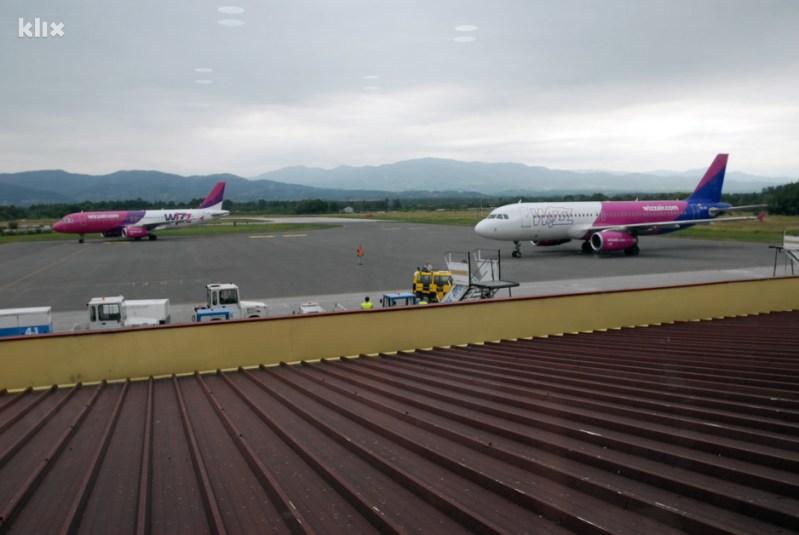 Međunarodni aerodrom Tuzla (Foto: Darko Zabuš/Klix.ba)