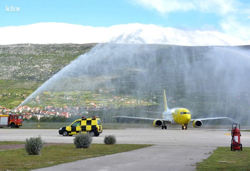 Međunarodni aerodrom Mostar (Foto: Željko Miličević/Klix.ba)