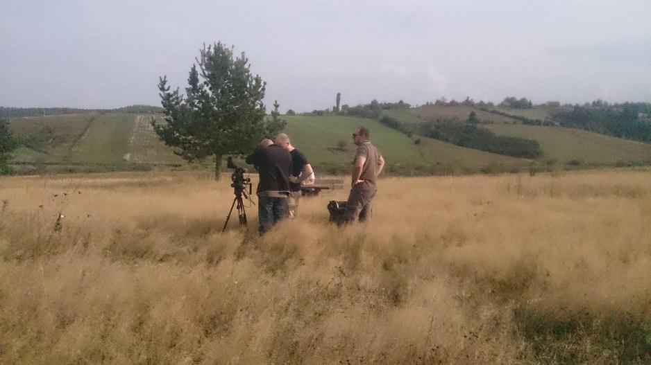 Sa snimanja filma