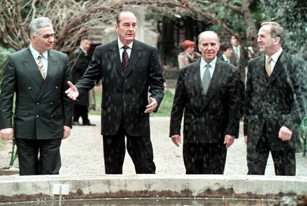 Prvi saziv Predsjedništva BiH (Foto: EPA-EFE)