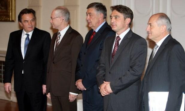 Četvrti saziv Predsjedništva BiH (Foto: EPA-EFE)