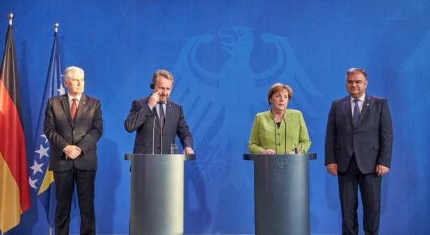 Šesti saziv Predsjedništva BiH (Foto: EPA-EFE)