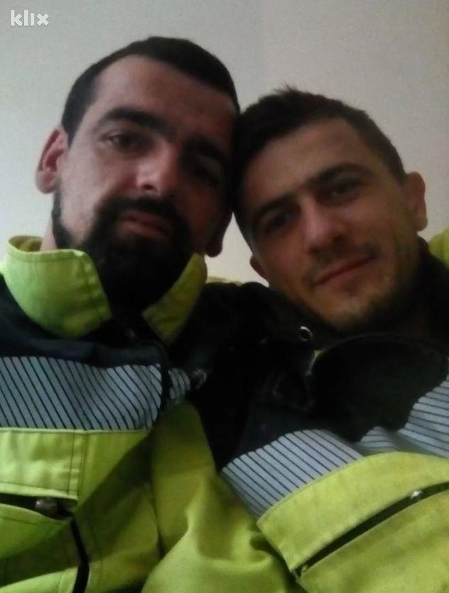 Sadmir Tarić i Armin Karović