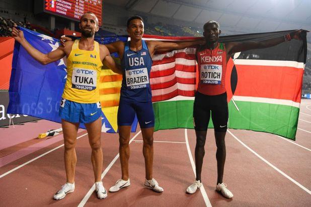 Najbrža trojica na svijetu na 800 metara (Foto: AFP)