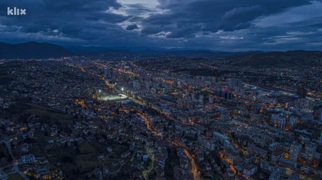 Let iznad Sarajeva