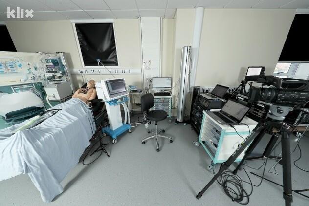 Laboratorija u kojoj je vršeno testiranje prototipa bh. respiratora (Foto: Ambasada Velike Britanije u BiH)