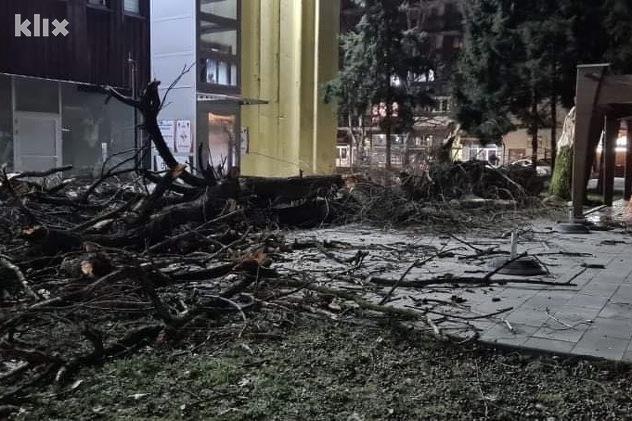Materijalna šteta na objektima nije pričinjena (Foto: Facebook)