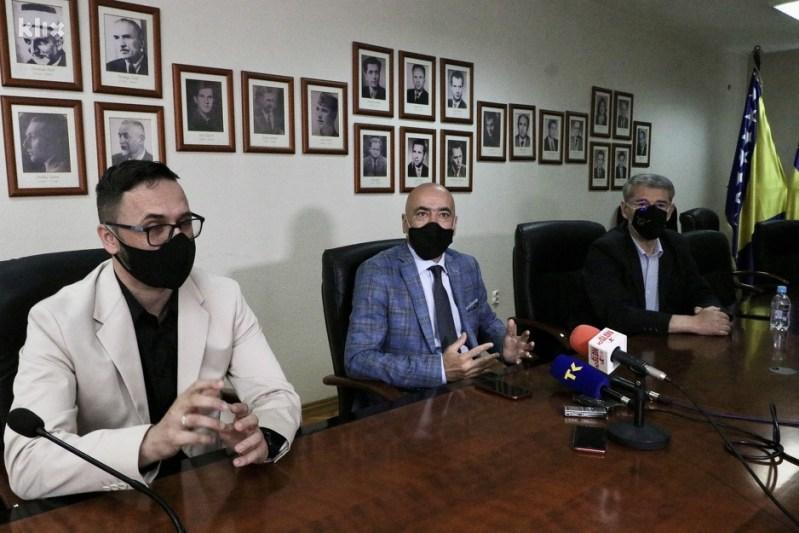 Jurić, Čekrez i Imamović zajednički sastanak su održali u Tuzli (Foto: A. K./Klix.ba)
