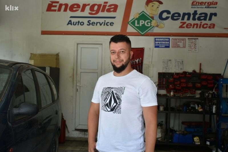 Adis Jažić (Foto: E. M./Klix.ba)