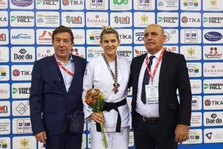 Aleksandra Samardžić osvojila brozanu medalju na Evropskom prvenstvu u Podgorici