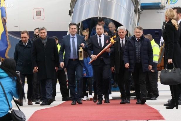 Image result for Plamen mira stigao u Sarajevo