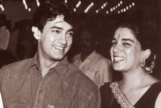 Image result for aamir khan and reena dutta