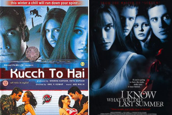 Kucch To Hai (2003) and I Know What You Did Last Summer (1997) Movie Poster
