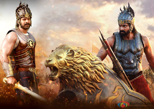Image result for rana and prabhas in bahubali