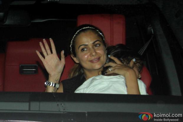 Amrita Arora Arrived For Arpita Khan's Birthday Bash