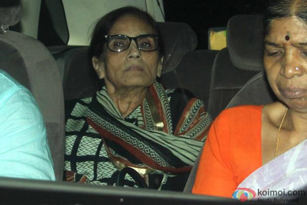 Sushila Charak Arrived For Arpita Khan's Birthday Bash