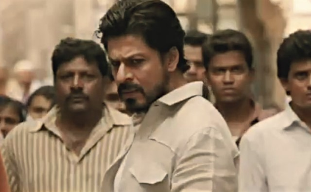 Shah Rukh Khan in stils from movie Raees