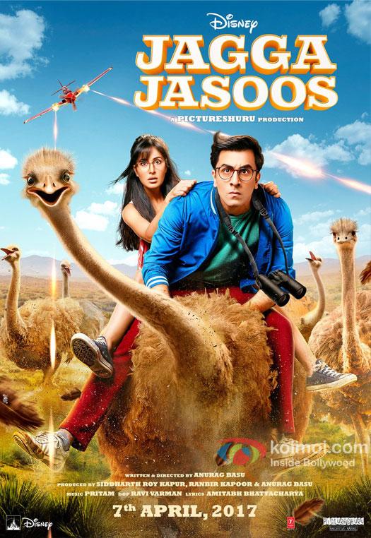 Check Out The First Look Poster Of Ranbir-Katrina Starrer Jagga Jasoos