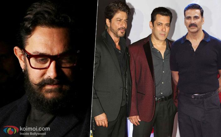 Competing with myself, not SRK, Salman, Akshay: Aamir Khan