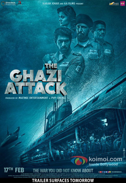 New Poster Alert! Rana Daggubati, Taapsee Pannu's The Ghazi Attack