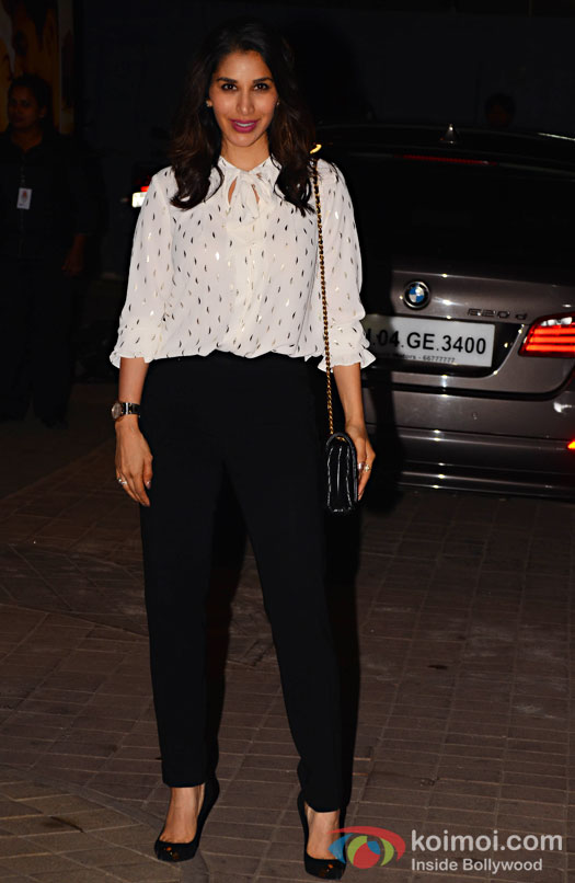 Sophie Choudhary during the screening of OK Jaanu