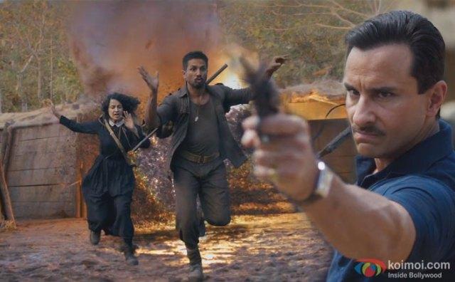 Rangoon Trailer Review : Kangana, Shahid And Saif Look Impressive In This Love Saga From World War 2