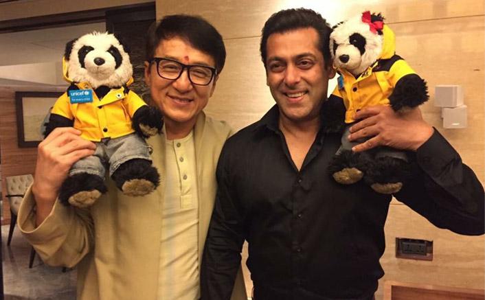 Salman Khan and Jackie Chan
