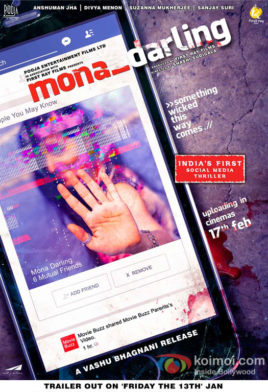 Vashu Bhagnani's Pooja film presents Mona_Darling - First look out