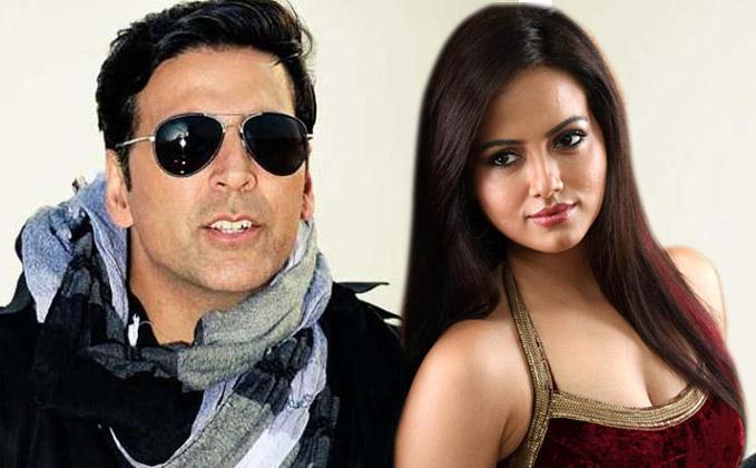 Akshay Kumar to romance Wajah Tum Ho actress Sana Khan in Toilet: Ek Prem Katha