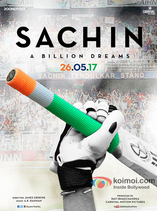 Check Out! The Brand New Poster Of Sachin - A Billion Dreams With New Release Date