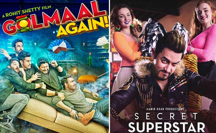 Box Office - Golmaal Again and Secret Superstar