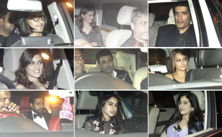 B-town attends Padmavati Deepika's call for celebration!
