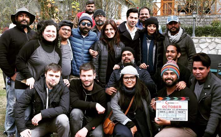 It's a wrap for Shoojit Sircar's October starring Varun Dhawan & newbie Banita Sandhu