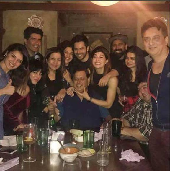 Image result for PHOTOS! Judwaa 2 Team Celebrates The Success With A Dinner Date