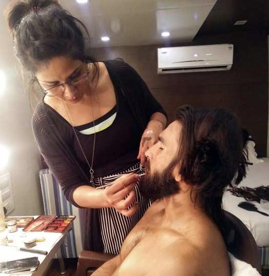 Padmaavat's makeup, hair and prosthetic designer Preetisheel Singh